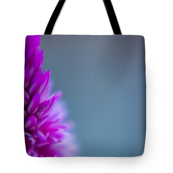Purple Blur Tote Bag