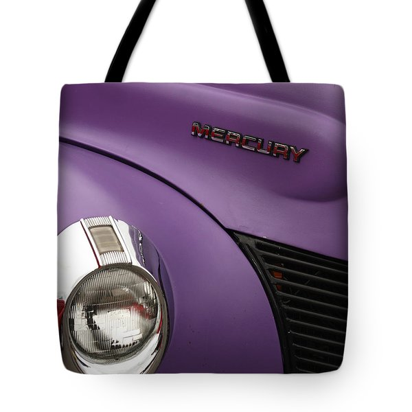 Purple Bomb Tote Bag by Art Block Collections