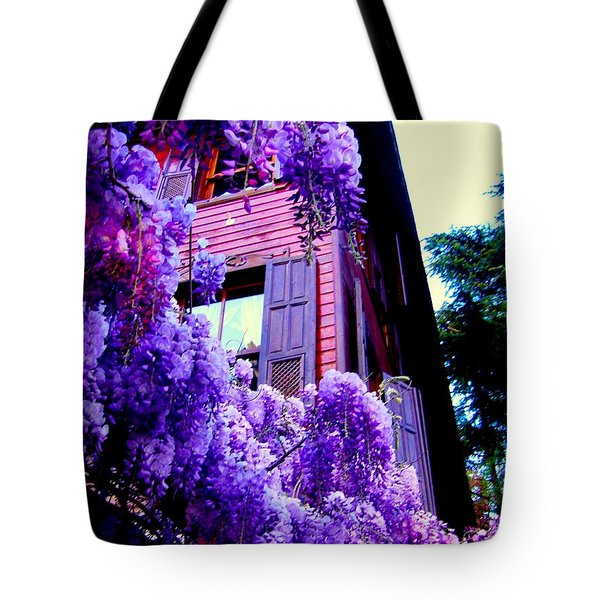 Purple Cheer Tote Bag