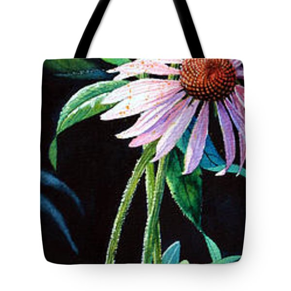 Purple Cone Flower 2 Tote Bag by Hanne Lore Koehler