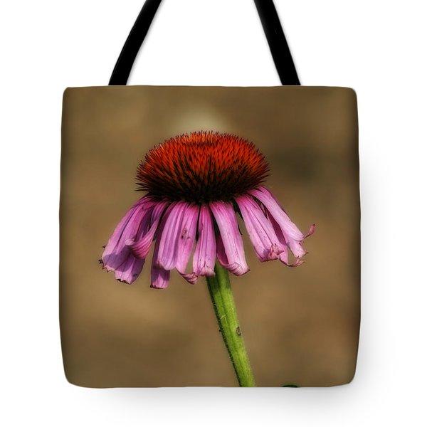 Purple Coneflower Tote Bag