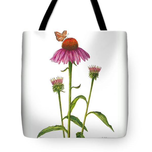 Purple Coneflower - Echinacea Purpurea  Tote Bag