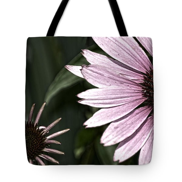 Purple Coneflower Imperfection Tote Bag