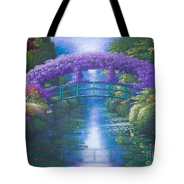 Purple Connection Tote Bag