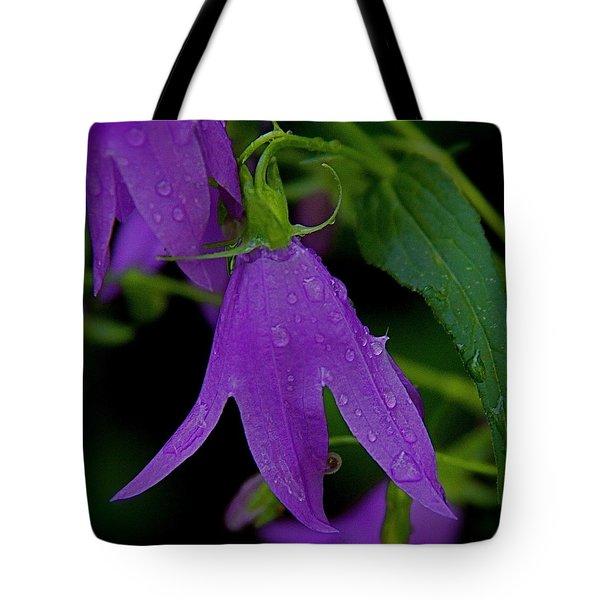 Purple Tote Bag by Daniel Sheldon