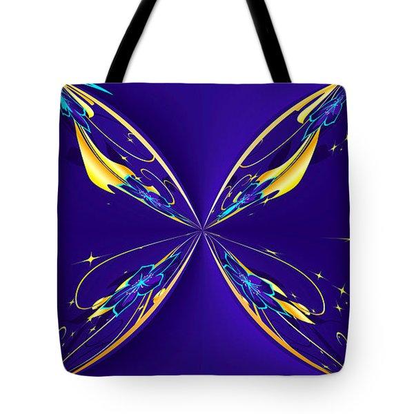 Purple Diamonds Tote Bag by Liane Wright