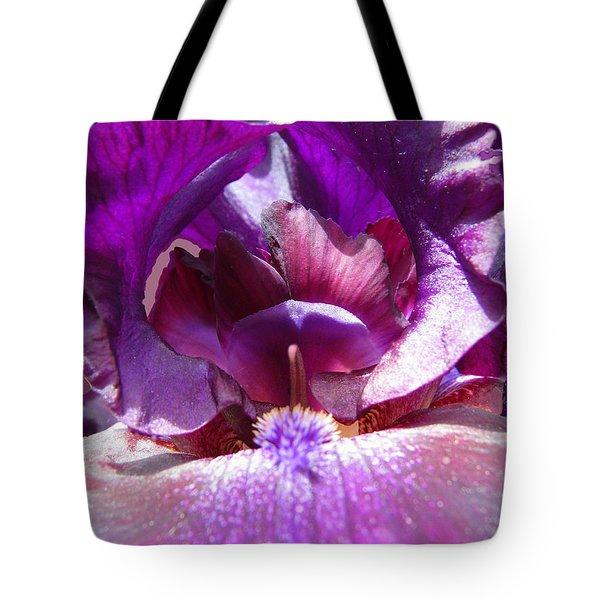 Purple Diva Tote Bag