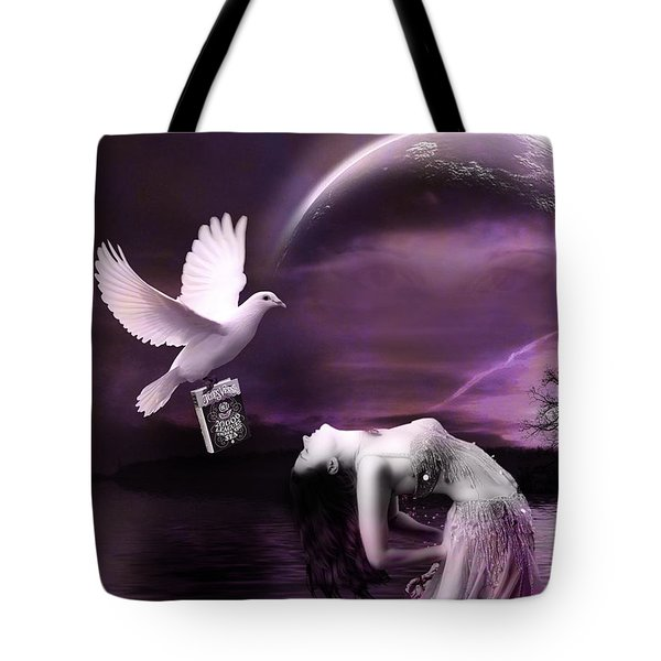 Purple Dream Tote Bag
