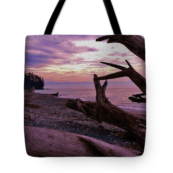 Tote Bag featuring the photograph Purple Dreams In Bc by Barbara St Jean