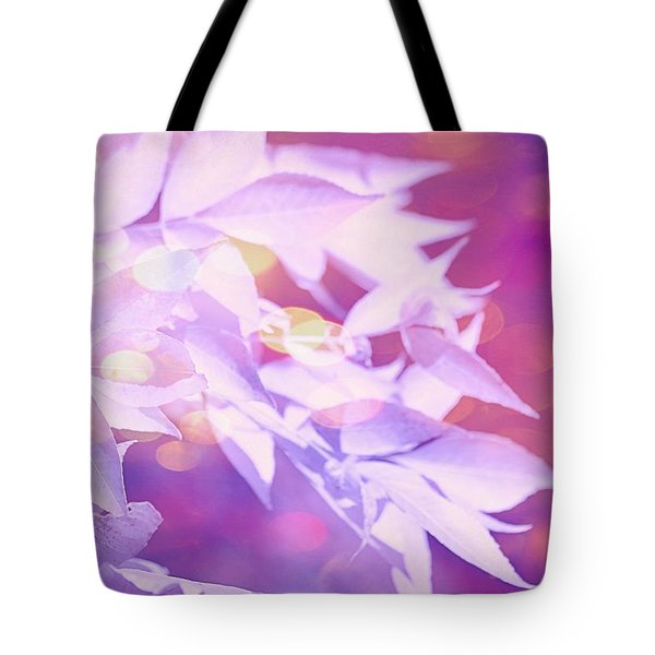 Purple Tote Bag by Elizabeth Budd