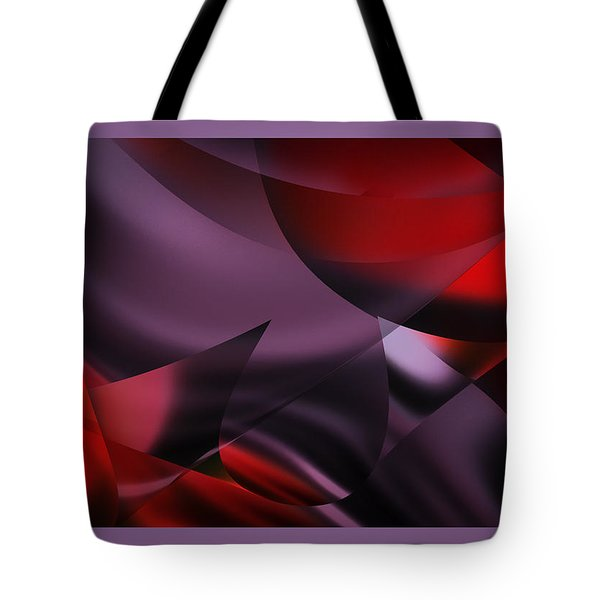 Purple Energy  Tote Bag by Diane Dugas