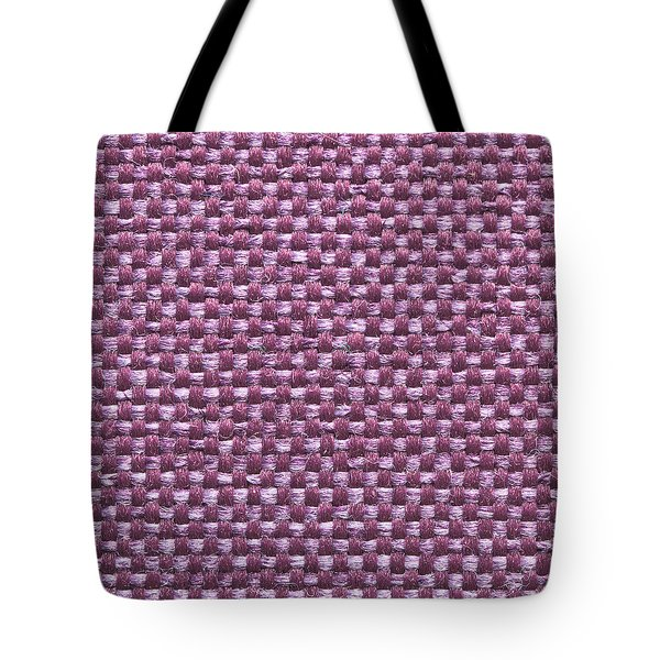 Purple Fabric Tote Bag by Tom Gowanlock
