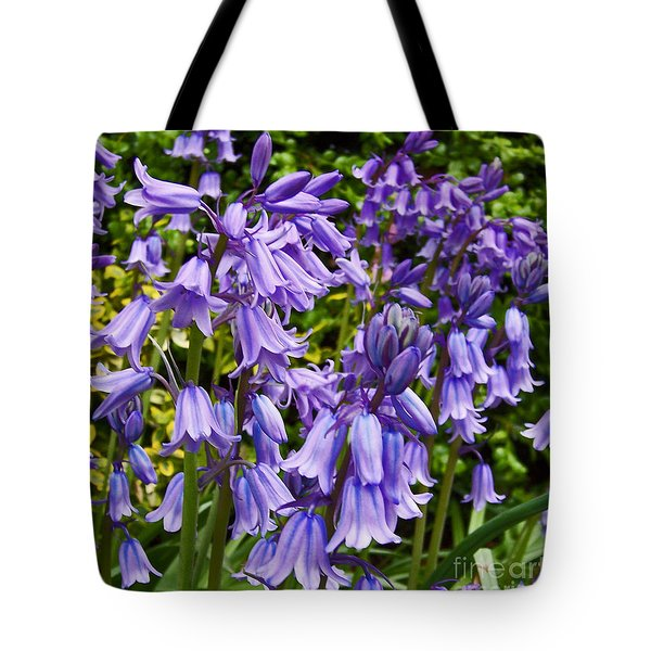 Tote Bag featuring the photograph Purple Flowers by Gena Weiser