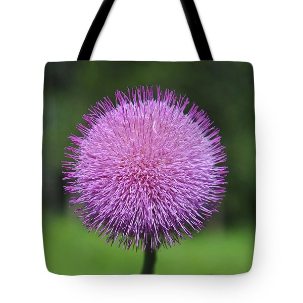 Purple Fuzz Tote Bag