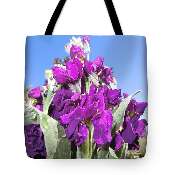 Purple Glow 2 Tote Bag