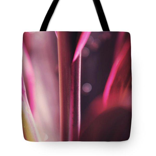 Purple Glow Tote Bag by Jenny Rainbow