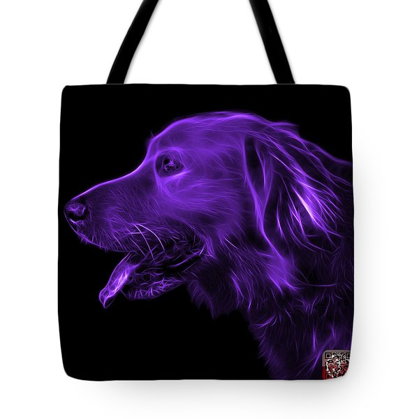 Purple Golden Retriever - 4047 F Tote Bag