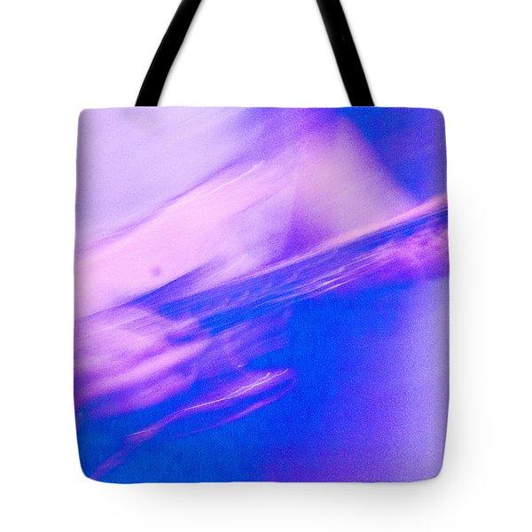 Tote Bag featuring the photograph Purple Haze by Alex Lapidus