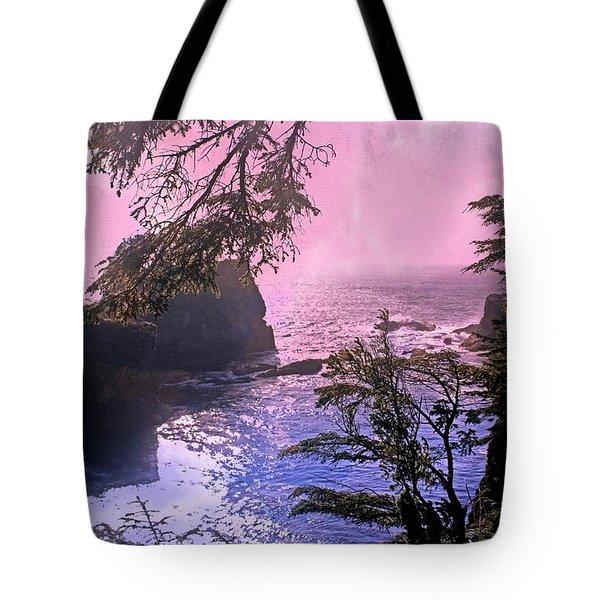 Purple Haze Tote Bag by Marty Koch