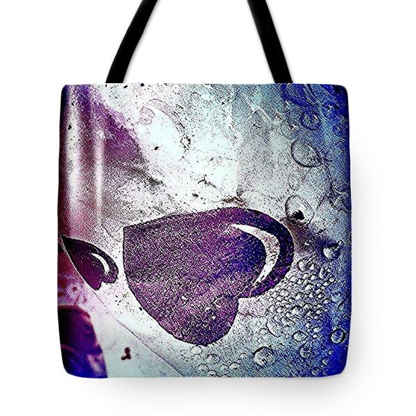 Purple Hearts 2c Tote Bag