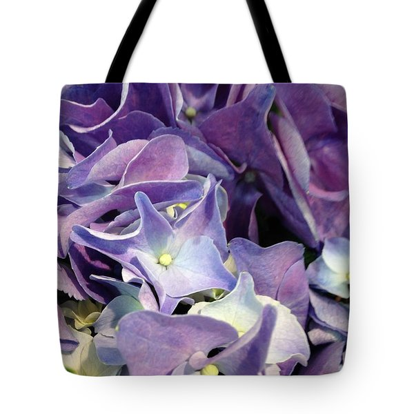 Purple Hydrangeas Tote Bag