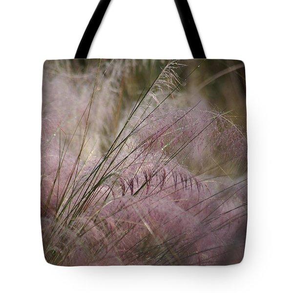 Purple In Bloom Tote Bag by Patricia Twardzik