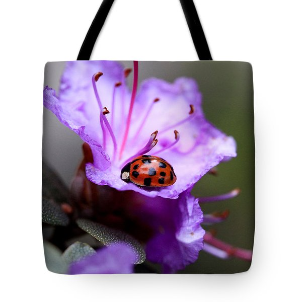 Purple Lady Tote Bag