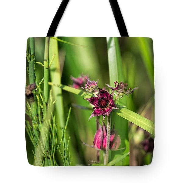 Tote Bag featuring the photograph Purple by Leif Sohlman