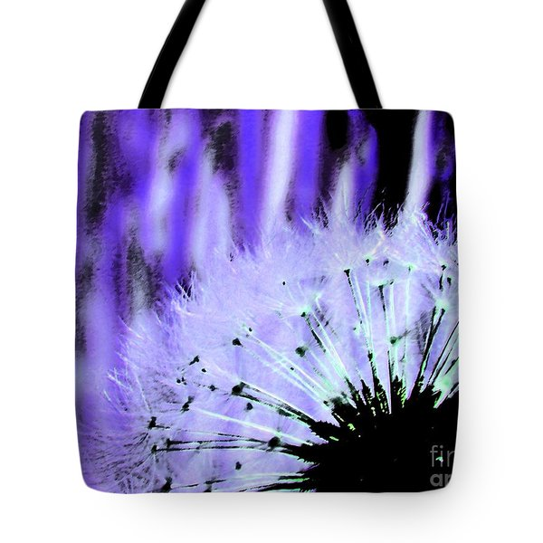 Purple Lion Tote Bag