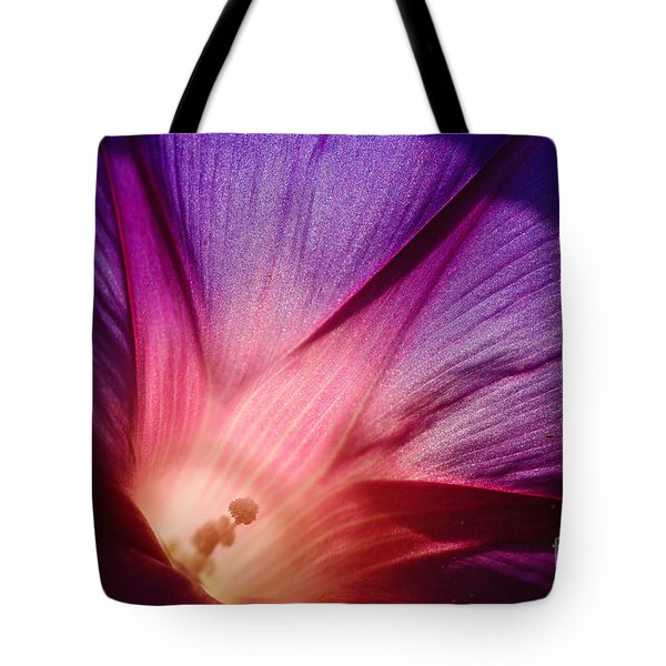 Purple... Tote Bag by Ludek Sagi Lukac