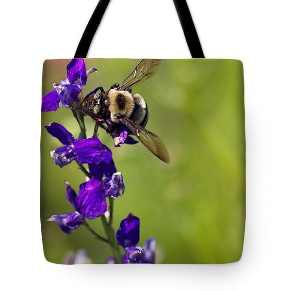 Purple Majesty Tote Bag by Erika Weber