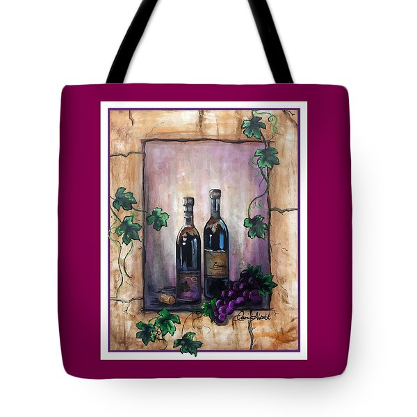 Hazy Purple Memories Tote Bag