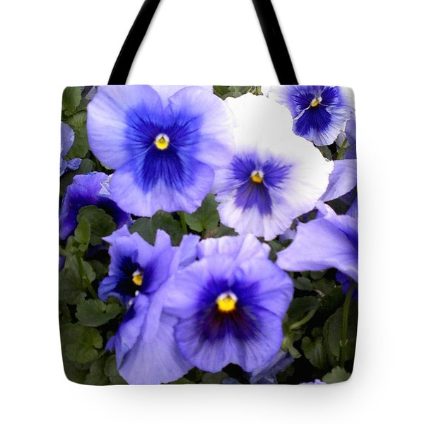 Tote Bag featuring the photograph Purple Morning Glory by Fortunate Findings Shirley Dickerson