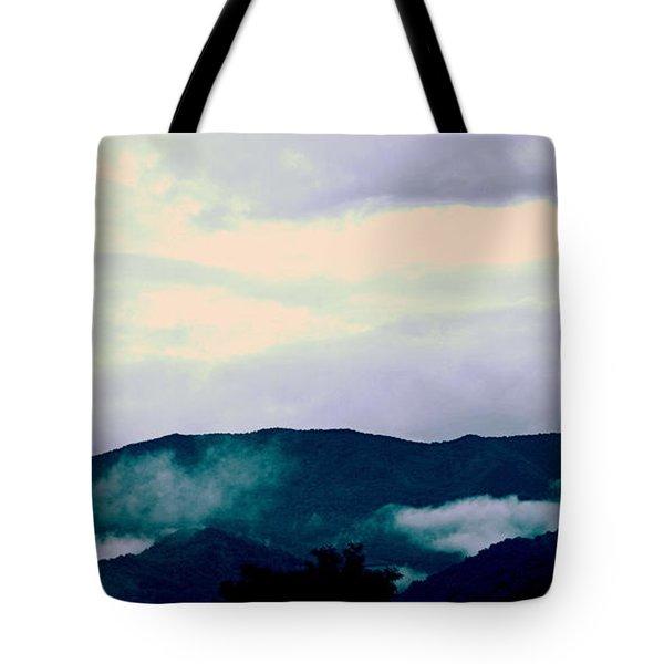 Purple Mountains Majesty Blue Ridge Mountains Tote Bag