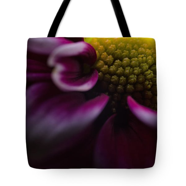 Purple Mum Macro Tote Bag