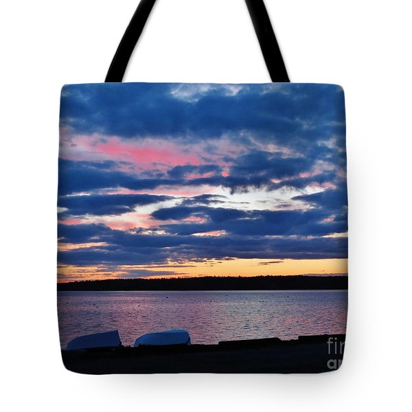 Purple Night Tote Bag
