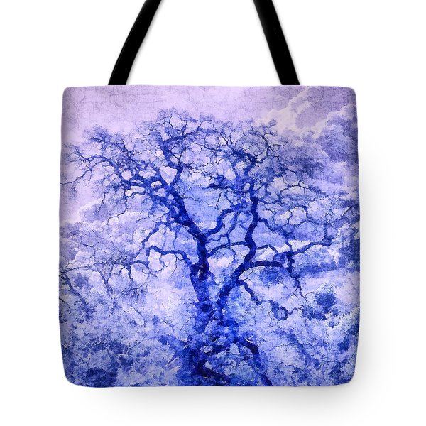 Purple Oak Tree Dream  Tote Bag