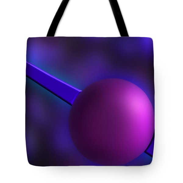 Purple Orb Tote Bag