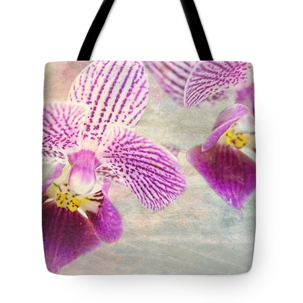 Purple Orchid 2 Tote Bag