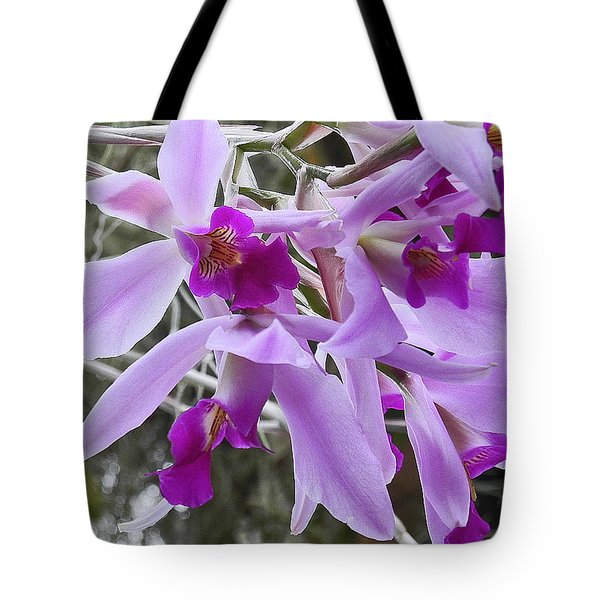 Purple Orchid Personality Tote Bag
