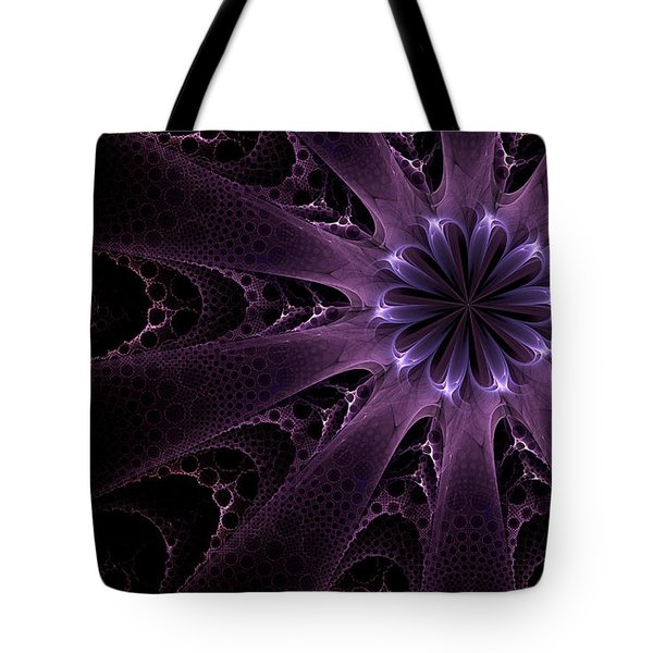 Purple Passion Tote Bag by GJ Blackman