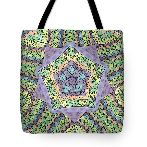 Purple Passion Tote Bag by Susie WEBER