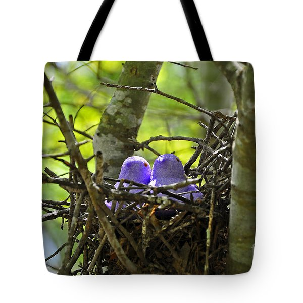 Purple Peeps Pair Tote Bag by Al Powell Photography USA