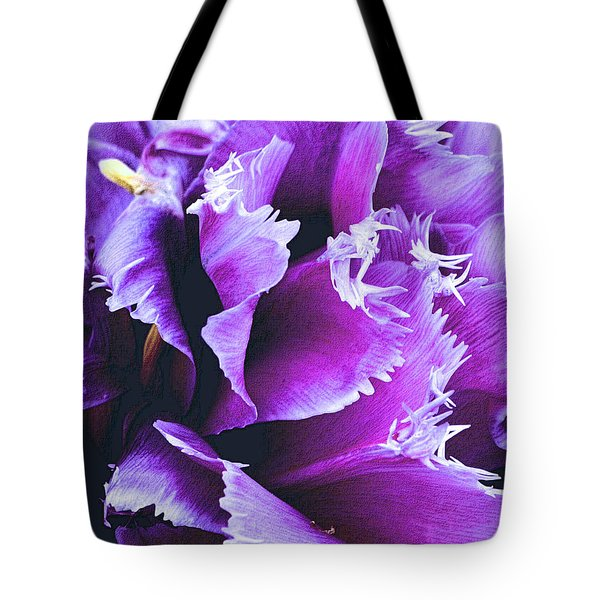 Purple Perfection Tote Bag