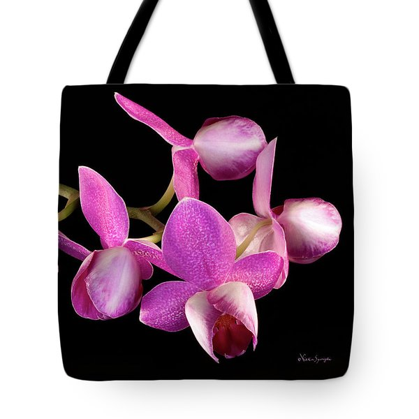 Purple Phal Tote Bag