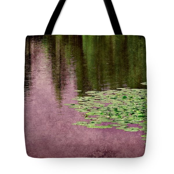 Purple Pond Reflections Tote Bag