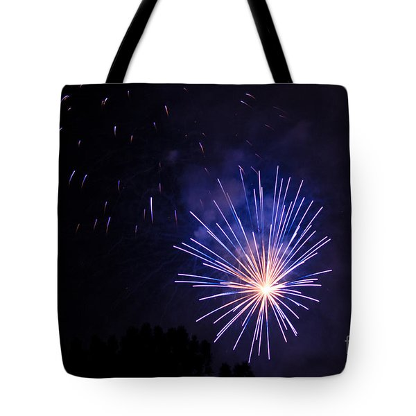 Purple Power Tote Bag by Suzanne Luft