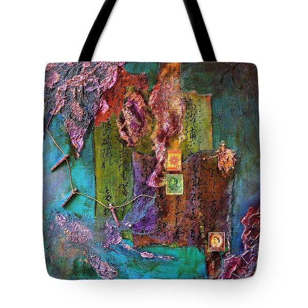 Purple Prose Tote Bag