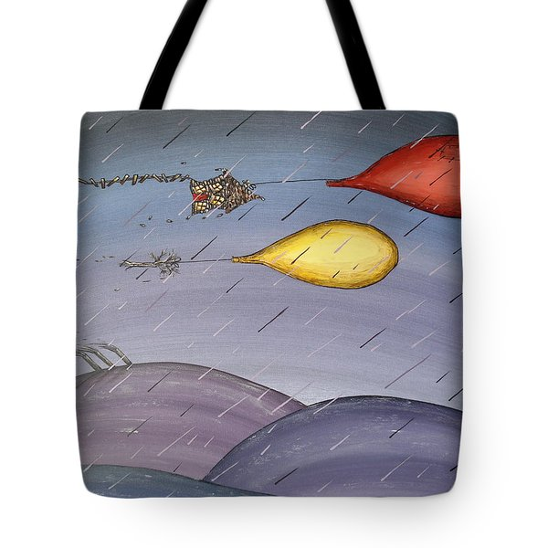 Purple Rain I Tote Bag
