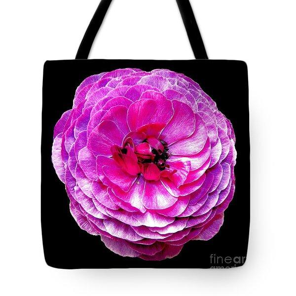 Purple Ranunculus Tote Bag by Rose Santuci-Sofranko